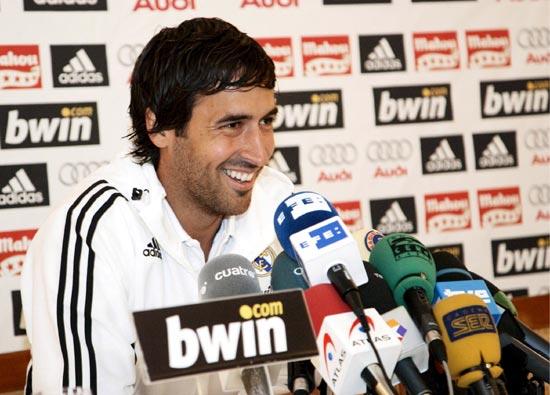 劳尔:来皇马是球员最佳选择从未嫉妒欧洲杯夺冠