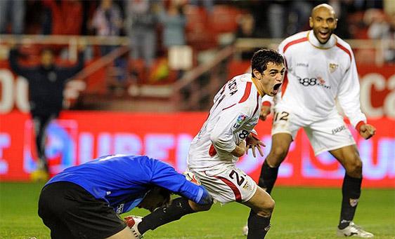 国王杯半决赛-塞维利亚最后一刻绝杀2-1逆转毕尔巴鄂