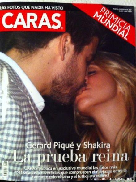 皮克夏奇拉接吻照首度曝光,人体艺术,性感美女,美女图片