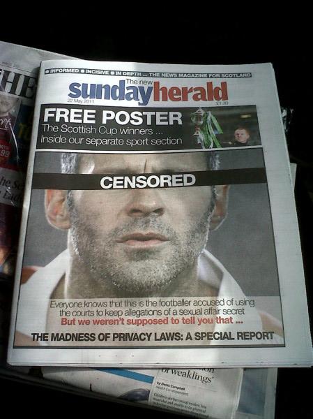 报纸大胆揭秘