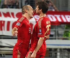 欧冠-罗本传射戈麦斯破门拜仁客场2-0马赛抢先机
