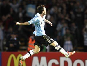 世预赛-梅西进球皇马两将破门阿根廷3-1取胜领跑