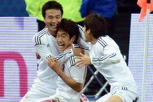 热身赛-香川真司终场前绝杀日本客场1-0擒法国