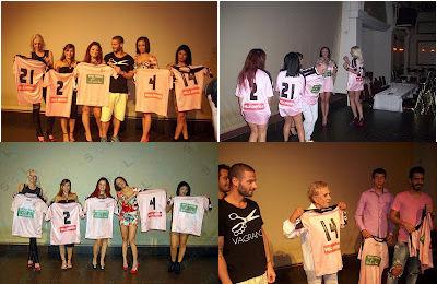球员与妓女一起展示粉色球衣