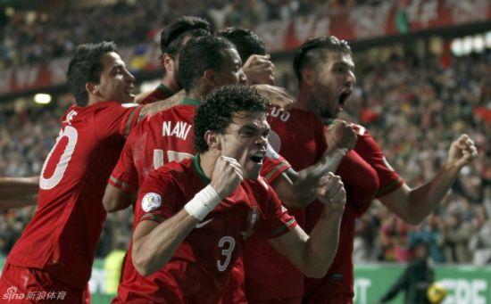 葡萄牙欢庆胜利