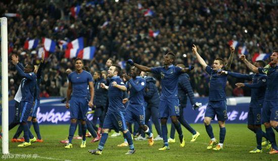 法国奇迹逆转晋级世界杯