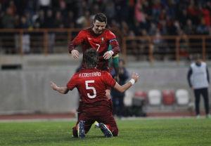 热身赛-C罗2球葡萄牙5-1日韩双双告捷比利时2-2
