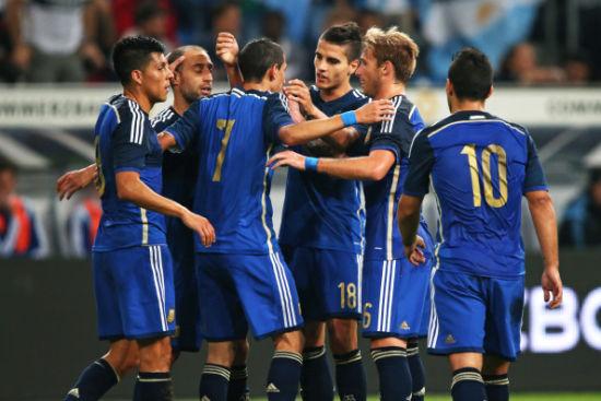 阿根廷客场4-2大胜德国