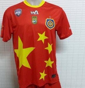 马杜雷拉队新球衣以五星红旗为设计原型