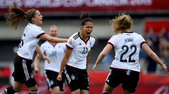 德国女足10-0获胜