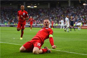 欧预赛-威尔谢尔2球鲁尼绝杀英格兰3-2夺全胜
