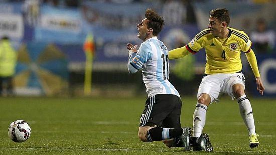 梅西在美洲杯上遇到更凶狠防守