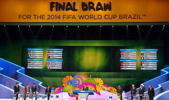 世界杯|2014巴西世界杯抽签|2014巴西世界杯视