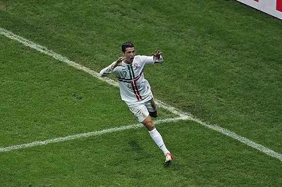 C罗――欧洲杯的王