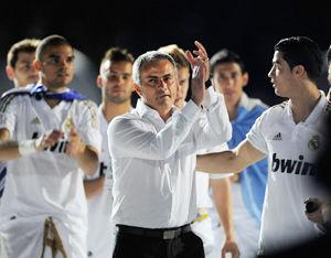 皇马官方宣布主教练穆里尼奥赛季末离任