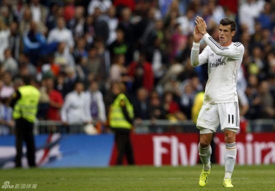 贝尔替补出场,为皇马赢得点球。