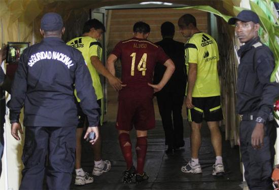 阿隆索因伤离场