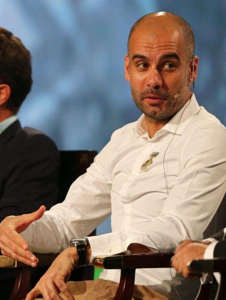 瓜迪奥拉表示,是梅西成就了巴萨而不是他