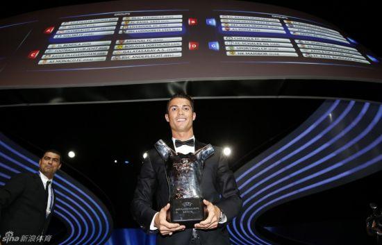 C罗荣膺2013-14赛季欧洲最佳球员
