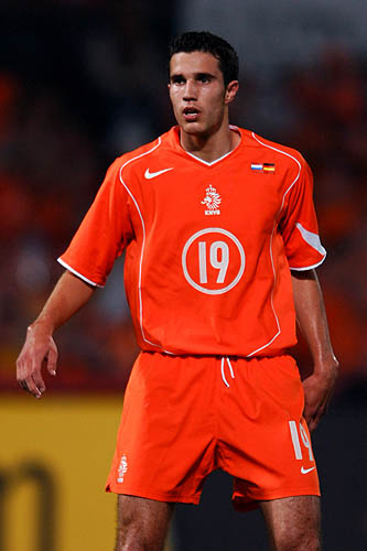 图文-荷兰国家队阵容一览阿森纳锋线杀手范佩西