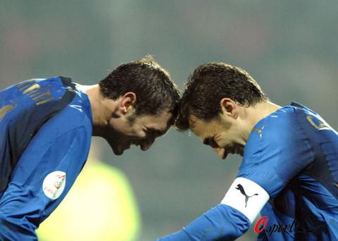 图文-[欧预赛]意大利vs法罗群岛亚平宁双星玩顶牛