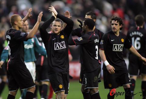 图文-[英超]利物浦0-1曼联红魔猛将得胜而归