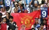 图文-[友谊赛]曼联2-3阿尔希拉尔曼联球迷遍布全球