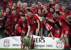 老照片-利物浦第5次夺得冠军杯杰拉德吹响反攻号