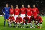 图文-[冠军杯]曼联1比0里昂C罗鲁尼领衔红魔11勇将