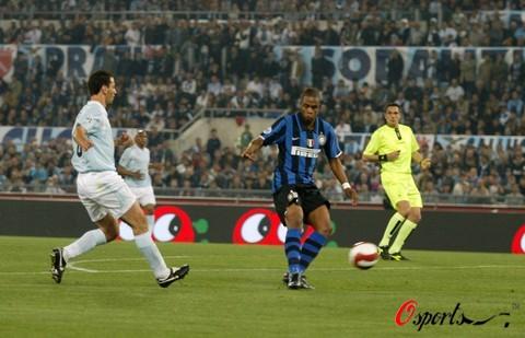 图文-[意大利杯]拉齐奥0-2国米贝利推射打开胜利门