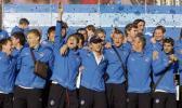图文-泽尼特携联盟杯冠军奖杯回国他们成了民族英雄