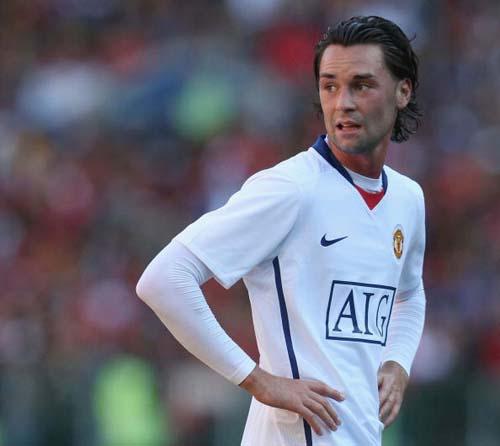 图文-[热身赛]凯撒酋长1-1曼联进球功臣伊格尔斯