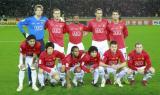 图文-[世俱杯]曼联1-0基多体育大学曼联首发合影