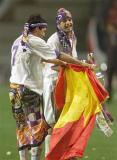 图文-伯纳乌活的传奇经典老照片劳尔第1个冠军杯冠军