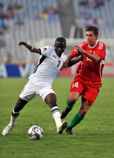 图文-[世青赛]加纳3-2匈牙利展示强壮身体