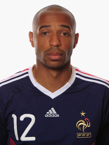 法国国家队拍摄世界杯标准照 前锋亨利