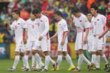 朝鲜队球员黯然离场