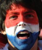巴拉圭球迷助威