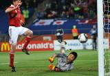 丹麦队扳回一球