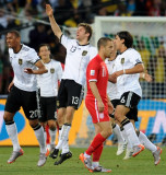 图文-[1/8决赛]德国4-1英格兰