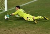 乌拉圭球门被破