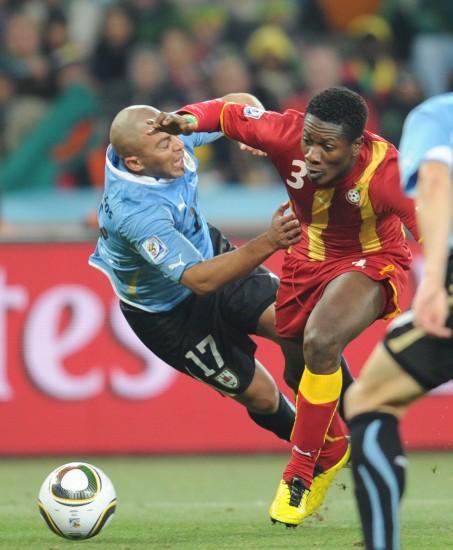 图文-[1/4决赛]乌拉圭VS加纳里奥斯的防守进攻
