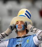 静待的乌拉圭球迷