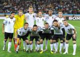 德国队球员赛前合影