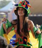 在里约热内卢观看比赛