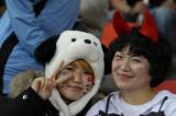 两名韩国球迷
