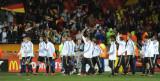 德国队向观众致意
