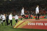 德国队员上颁奖台