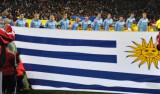 乌拉圭队员唱国歌