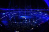 璀璨的体育场内景